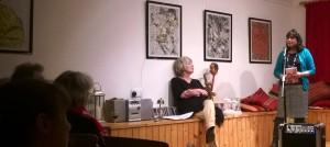 Bashabi Fraser and Chrys Salt by Charlie Gracie